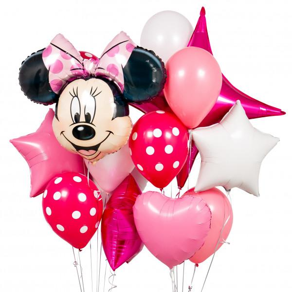Bubblegum Balloons - Minnie Mouse Crazy Balloon Bunch - PRTP-CRZY- The Original Party Bag Company