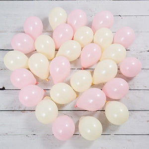 Bubblegum Balloons - Pale Pink Mini Balloons (Pk28) - BBYP-MINB- The Original Party Bag Company