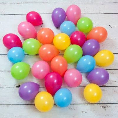 Bubblegum Balloons - Pastel Rainbow Mini Balloons (Pk28) - PSTR-MINB- The Original Party Bag Company