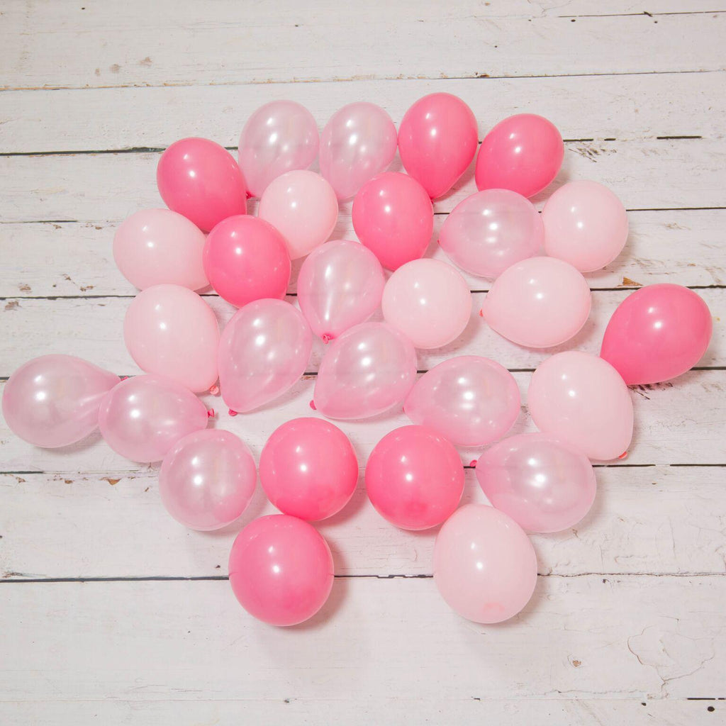 Bubblegum Balloons - Pink Princess Crazy Balloon Bunch - PRNC-CRZY- The Original Party Bag Company