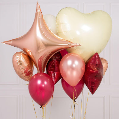 Bubblegum Balloons - Red Berry Crazy Balloon Bunch - BRYB-CRZY- The Original Party Bag Company