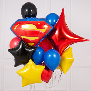 Bubblegum Balloons - Superhero Crazy Balloon Bunch - SPHR-CRZY- The Original Party Bag Company