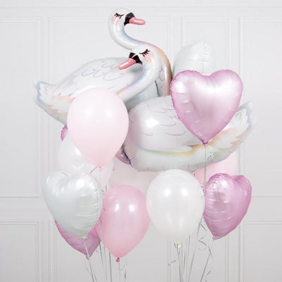 Bubblegum Balloons - Swan Crazy Balloon Bunch - swan-crzy- The Original Party Bag Company