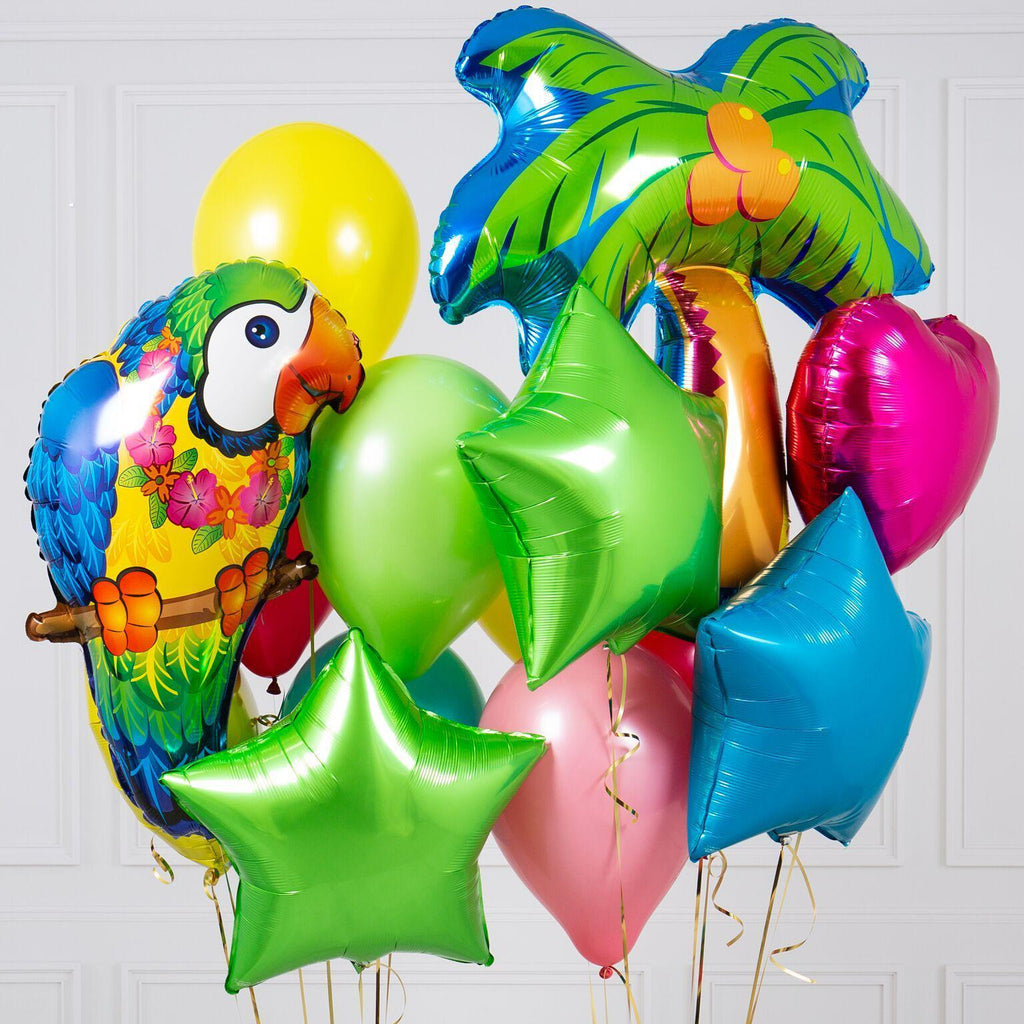 Bubblegum Balloons - Tropical Crazy Balloon Bunch - TRPC-CRZY- The Original Party Bag Company