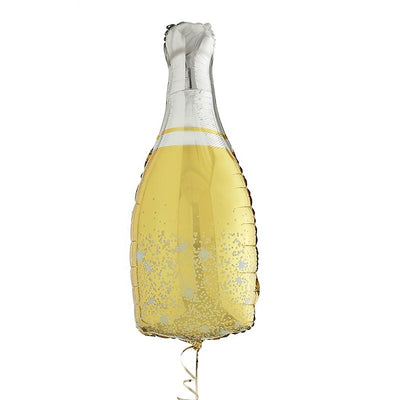 Champagne Bottle Balloon - Inflated