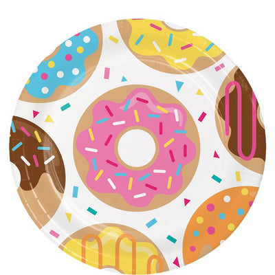 Doughnut Party Plates