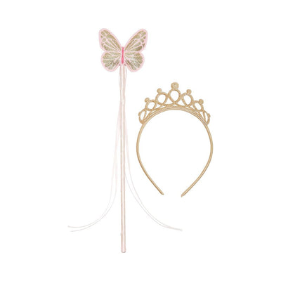 Fairy wand and tiara set