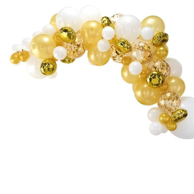 Ginger Ray - Gold Balloon Arch Garland - ba-303- The Original Party Bag Company