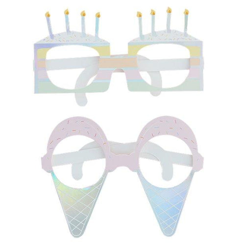Sweet Cones Glasses Craft Bow Tie Stickers Ideal for Crafting Mugs