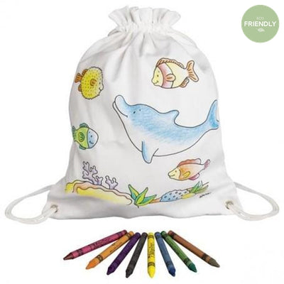 Gollnest and Kiesel - Sea Animals Rucksack - 58742- The Original Party Bag Company