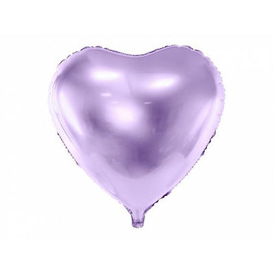 Lilac Heart Foil Balloon