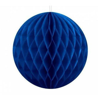Blue Honeycomb ball Hanging Decorations