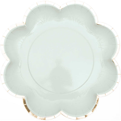Rico Design Mint Flower Plates