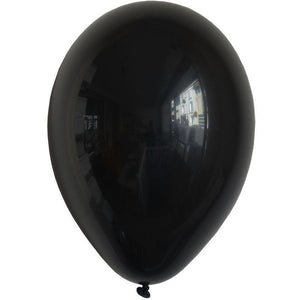 "My Little Day - 11"" Black Balloons (Pk10) - MLD-BA12NO- The Original Party Bag Company"