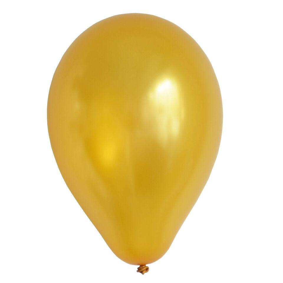 "My Little Day - 11"" Gold Balloons (Pk10) - MLD-BA12OR- The Original Party Bag Company"
