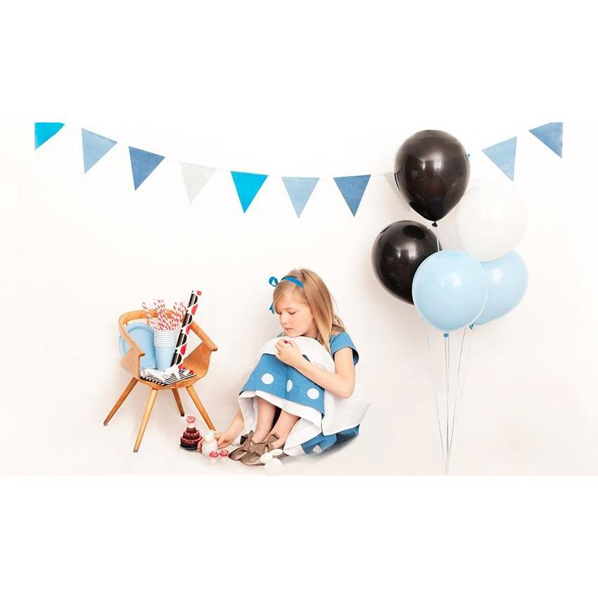 "My Little Day - 11"" Pale Blue Balloons (Pk10) - MLD-BA12BLCL- The Original Party Bag Company"