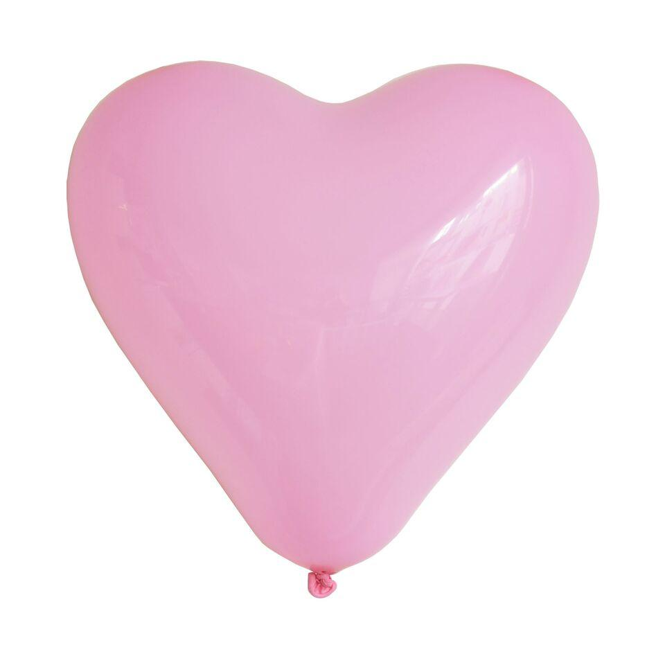 "My Little Day - 11"" Pink Heart Balloons (Pk10) - MLD-BACORO- The Original Party Bag Company"