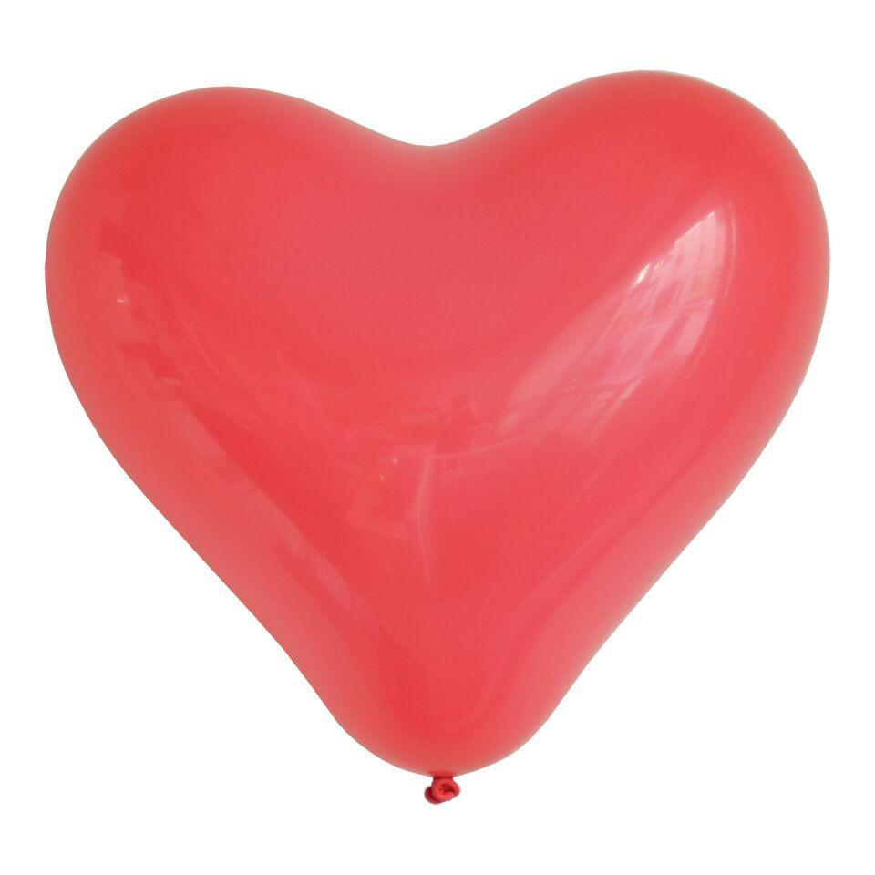 "My Little Day - 11"" Red Heart Balloons (Pk10) - MLD-BACOROU- The Original Party Bag Company"