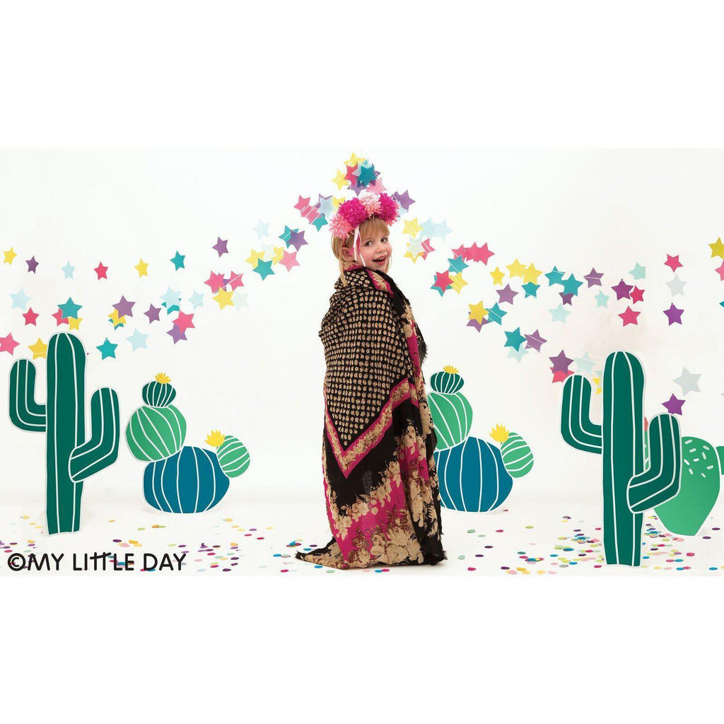 "My Little Day - 12"" Cactus Balloons (Pk5) - MLD-BATATCACT- The Original Party Bag Company"