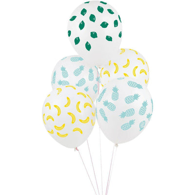 "My Little Day - 12"" Fruit Balloons (Pk5) - MLD-BATATFRUITS- The Original Party Bag Company"