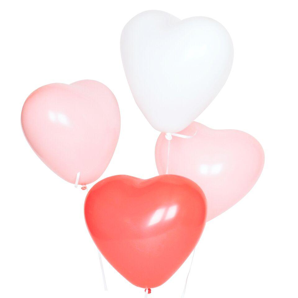 "My Little Day - 12"" Heart Mix Balloons (Pk10) - MLD-BATRIOCOEUR- The Original Party Bag Company"
