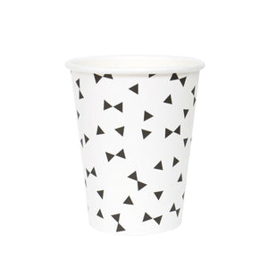 My Little Day - Black Ties Cups (Pk8) - MLD-GOTRNO- The Original Party Bag Company