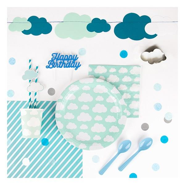 My Little Day - Blue Mix Party Confetti - MLD-CONPABL2- The Original Party Bag Company