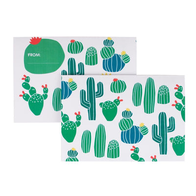 My Little Day - Cactus Invitations (Pk8) - MLD-INVIT-CACT- The Original Party Bag Company