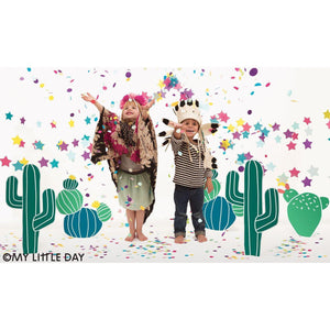 My Little Day - Cactus Party Cups (Pk8) - MLD-GOCACT- The Original Party Bag Company