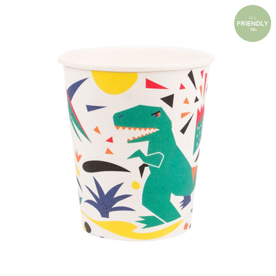 My Little Day - Dinosaur Party Cups (Pk8) - MLD-GODINO- The Original Party Bag Company