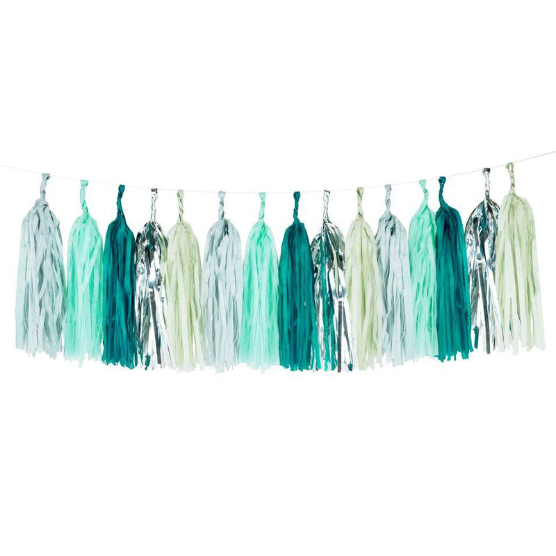 My Little Day - Green Tassel Garland - MLD-TASSELVER- The Original Party Bag Company