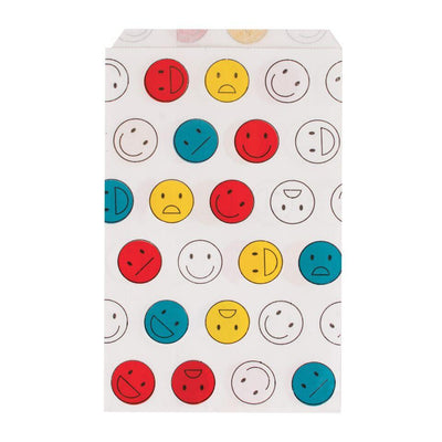 My Little Day - Happy Faces Treat Bags (Pk10) - MLD-POPASMILE- The Original Party Bag Company