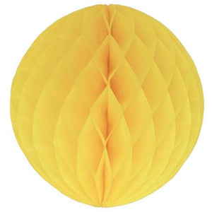 My Little Day - Honeycomb Ball - Yellow (Medium) - MLD-BOUPAJA8- The Original Party Bag Company