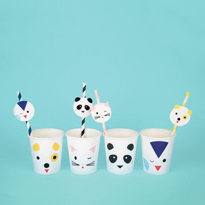 My Little Day - Mini Animal Cups (Pk8) - MLD-GOMINIANI- The Original Party Bag Company