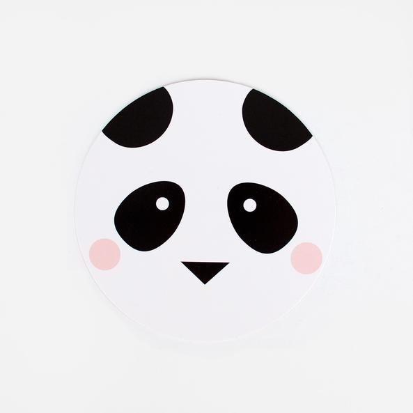 My Little Day - Panda Invitations (Pk8) - mld5- The Original Party Bag Company
