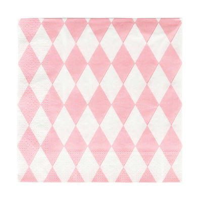 My Little Day - Pink Diamonds Napkins (Pk20) - MLD-SELORO- The Original Party Bag Company