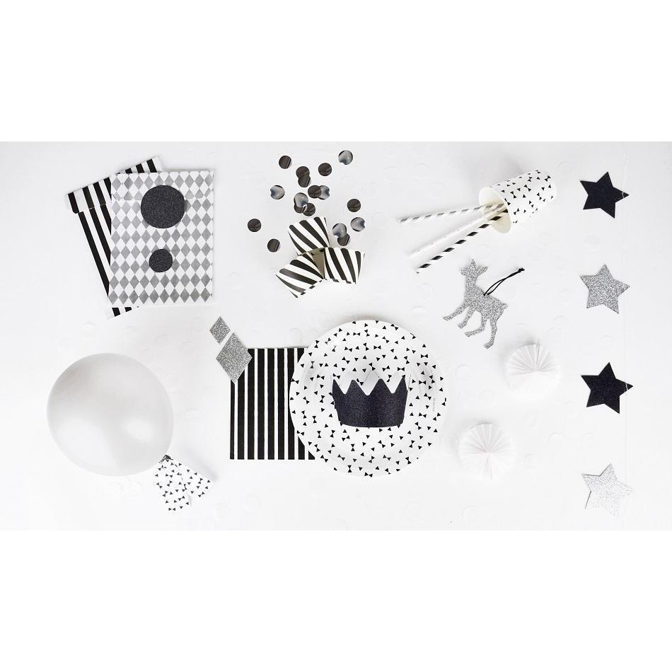 My Little Day - Silver Diamond Treat Bags (Pk10) - MLD-POPALOAR- The Original Party Bag Company