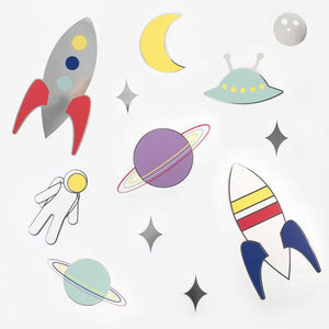 My Little Day - Space Paper Decorations - MLD-DECOCOSMO- The Original Party Bag Company
