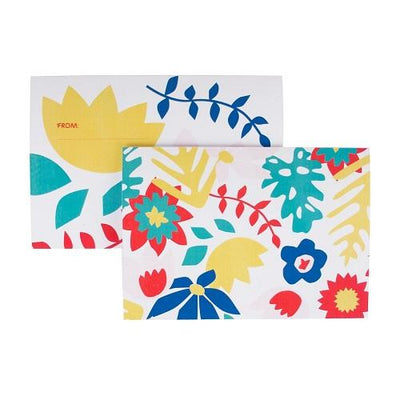 My Little Day - Tropical Flowers Invitations (Pk8) - MLD-INVIT-FLETROP- The Original Party Bag Company