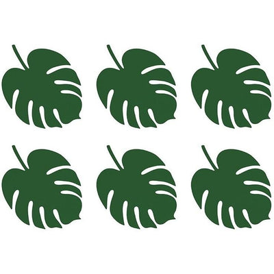Party Deco - Tropical Aloha Palm Place Cards (Pk6) - wsp3- The Original Party Bag Company