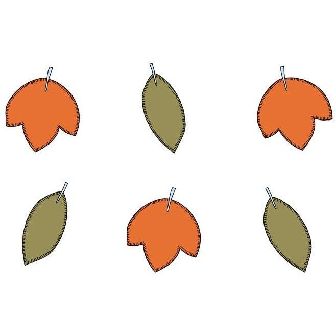Party Deco - Woodland Leaves - DNT4- The Original Party Bag Company