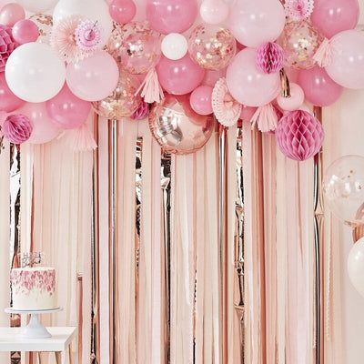 Pink Balloon Backdrop
