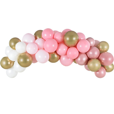 Pink and Gold Balloon garland