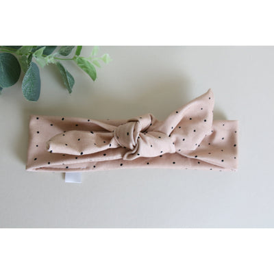 Pink Dotty Headband Tie - Gifts For Her