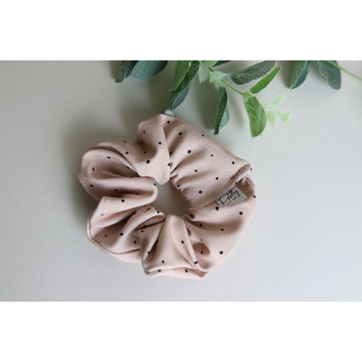 Pink Dotty Mini Scrunchy