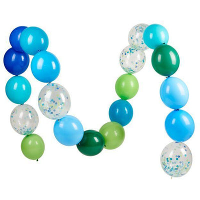 Poppies for Grace - Blue Linking Balloon Set - linkhandsome- The Original Party Bag Company