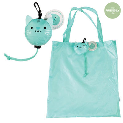 Rex London - Foldaway Bag Cookie The Cat - 27944- The Original Party Bag Company