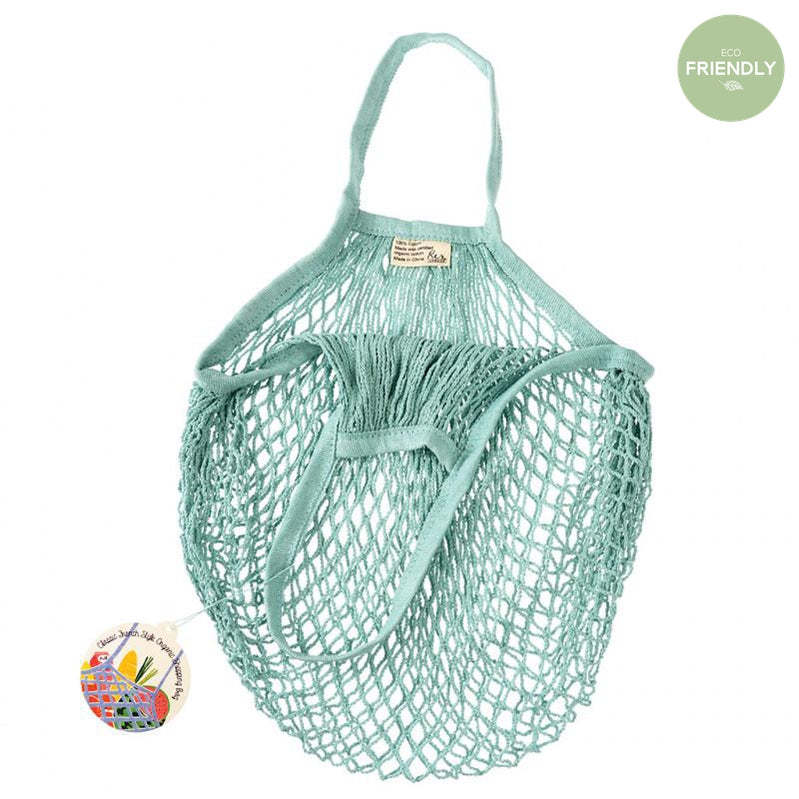 Rex London - Organic Cotton Blue Net Bag - 28673- The Original Party Bag Company