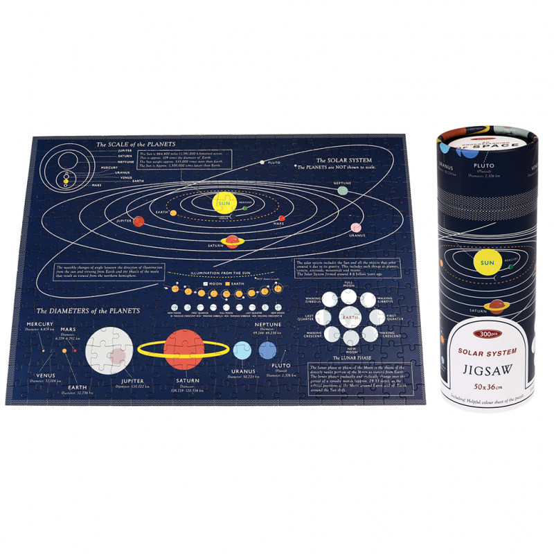Rex London - Space Age Puzzle In A Tube - 28292- The Original Party Bag Company