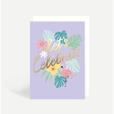 Sadler Jones - Let's Celebrate Card - co05- The Original Party Bag Company